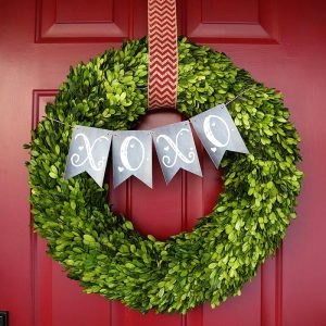 Are you getting ready for Cupid's favorite holiday? Adorn a wall or door with a cute Valentine's Day wreath - here are 20 projects you can make!