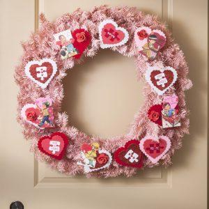 Vintage Valentine Wreath in 15 Minutes!