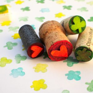 How to Make Wine Cork Stamps