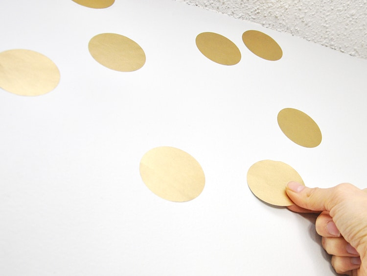 make gold removable wall decals diycandy com 3d wall stickers ebay