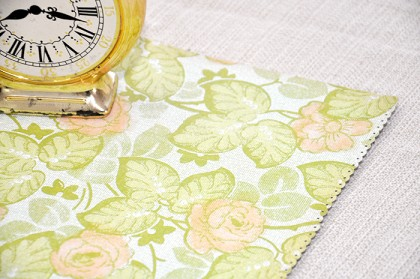 This simple yet elegant DIY table runner will bring some brightness and cheer to your eating area - and it's easy to make from paper.