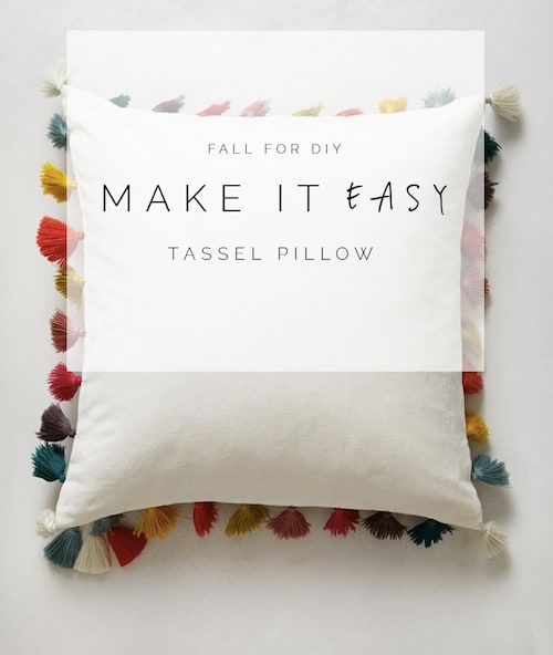 Fall-For-DIY-Make-it-Easy-Tassel-Pillow