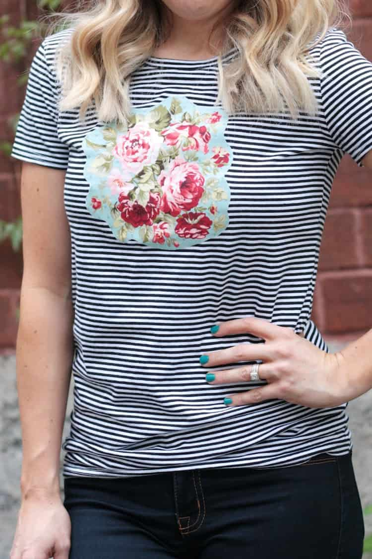T-Shirt Applique You Can Make in Minutes!