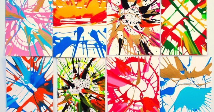 Remember spin art from when you were a kid? You can recreate it with household items, and no fancy machine. This kids' craft is SO fun!