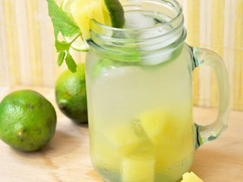 Pineapple Limeade Recipe Is So Refreshing Diy Candy
