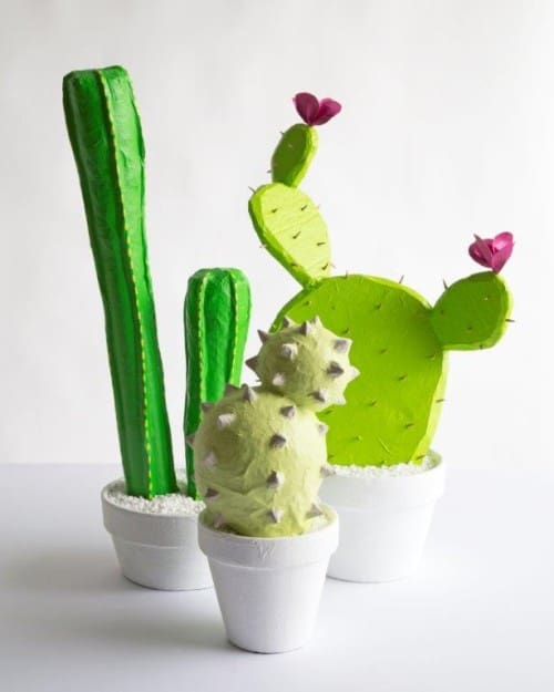 Looking for a cute plant project that is guaranteed to be drought resistant? Check out one of these 15 DIY cactus crafts!