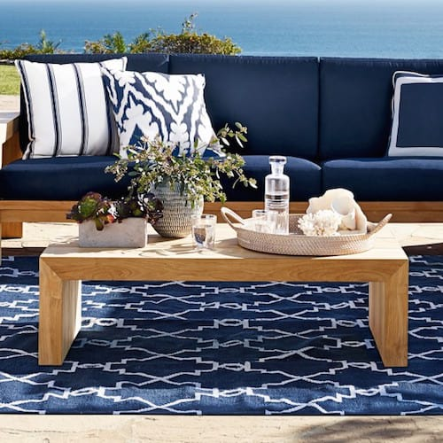 williams sonoma larnaca outdoor coffee table