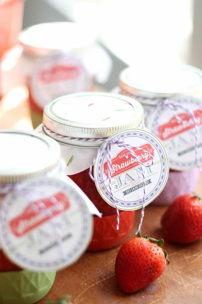 low sugar strawberry jam recipe with pectin