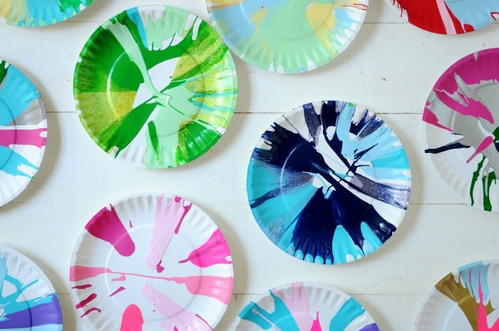 How to make spin art with a DIY spin painter