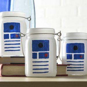 Star Wars Craft: R2D2 Luminaries