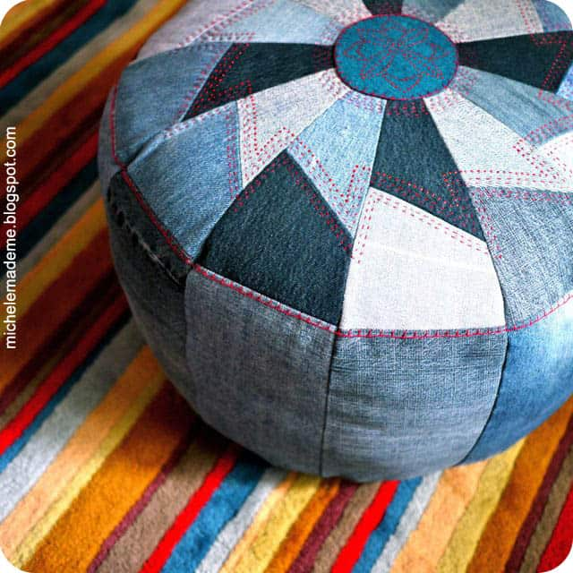 denim-pouf