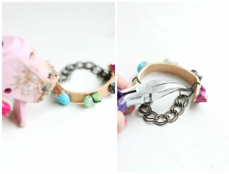 ice cream stick bracelet