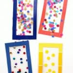 Simple bookmark craft for kids