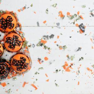 Confetti Filled Halloween Cascarones