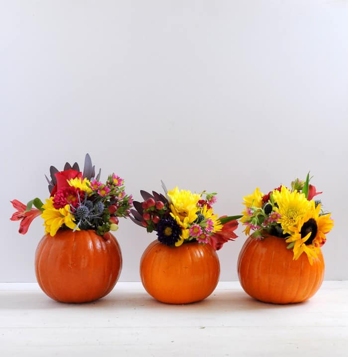 Diy Mini Pumpkin Vase For Fall Diy Candy