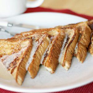 Seasonal Eggnog French Toast Recipe