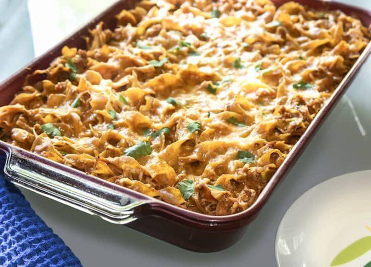 Skinny Turkey Enchilada Casserole Recipe
