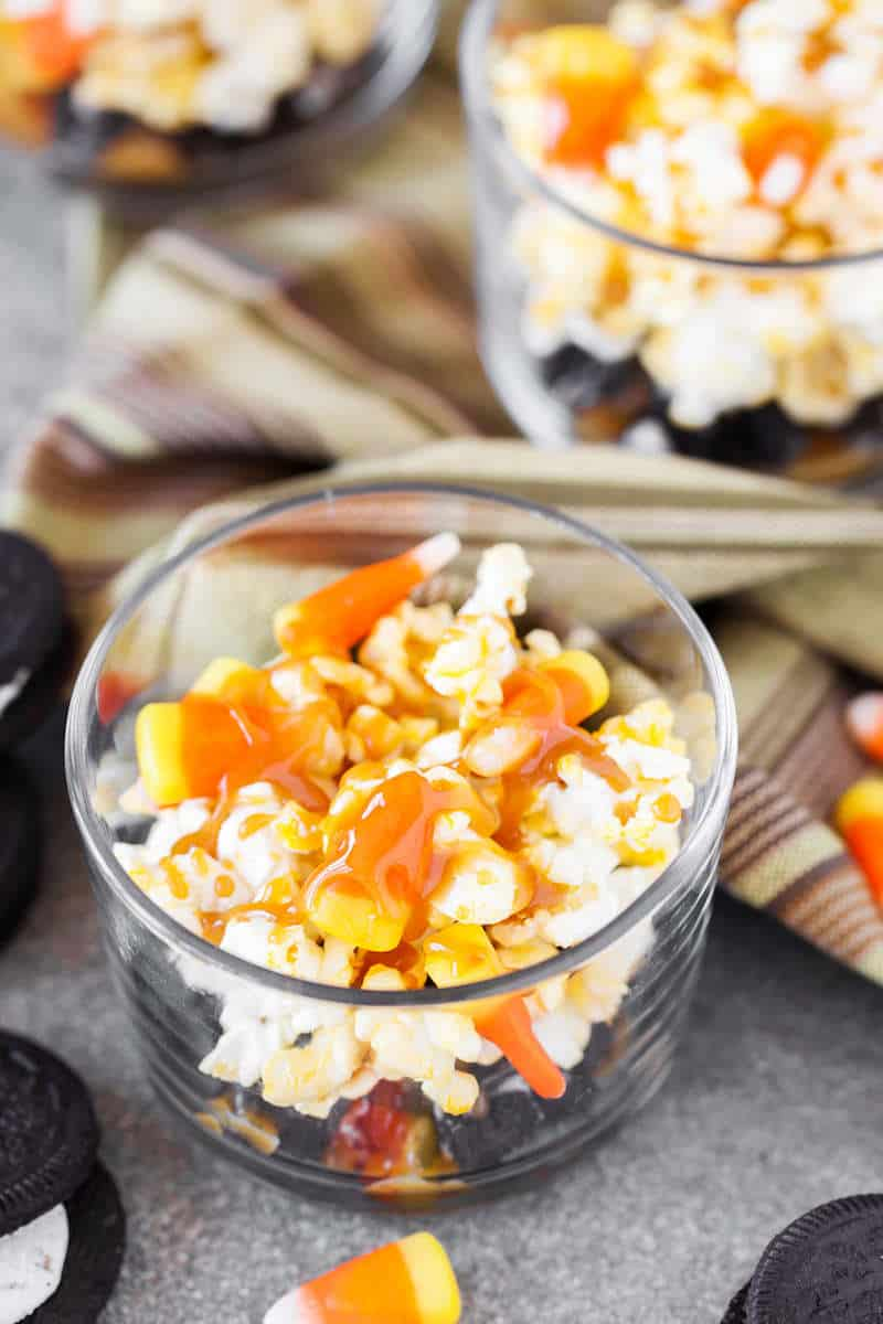 This yummy caramel popcorn recipe is easy to throw together and oh, so good! It's the perfect combination of salty and sweet. You'll love it!