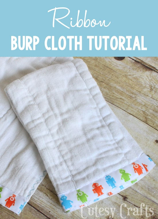 How to Make Baby Burp Cloths (an Easy DIY!)