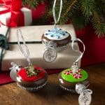Handmade Cupcake Christmas Ornaments