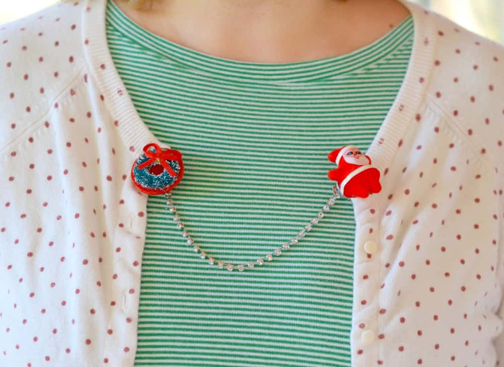 how to make sweater clips