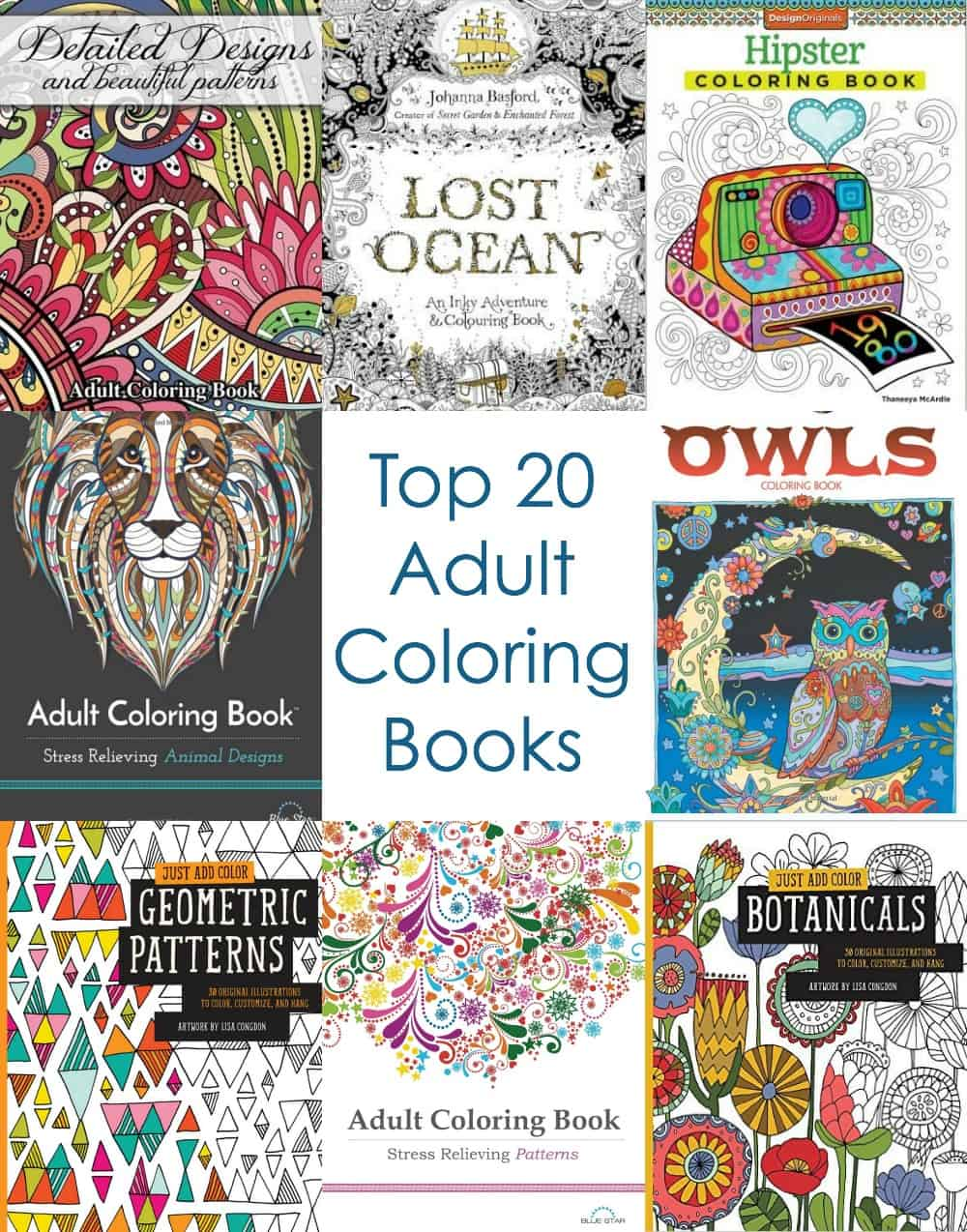 Top 20 Adult Coloring Books You Ll Have To Buy Diy Candy