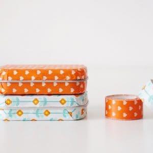 Washi Tape Crafts: Upcycled Mint Tin