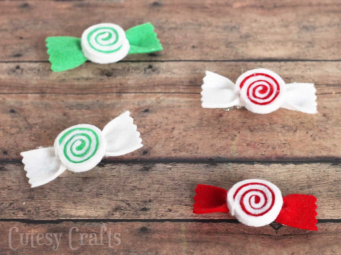 I enjoy making felt hair bows for my girls, so today I've got a peppermint swirl clip tutorial you'll love! Don't they look good enough to eat?!