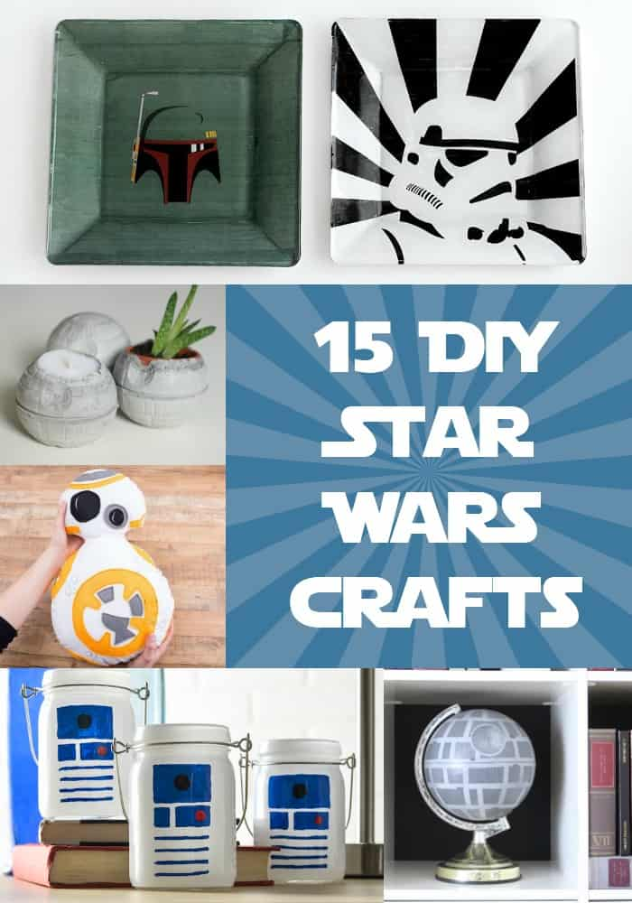 15 diy star wars projects you 39 ll love diy candy. Black Bedroom Furniture Sets. Home Design Ideas