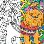 Are you a dog lover or do you know one? These 10 canine themed coloring books for adults make great gifts or a perfect addition to your collection!
