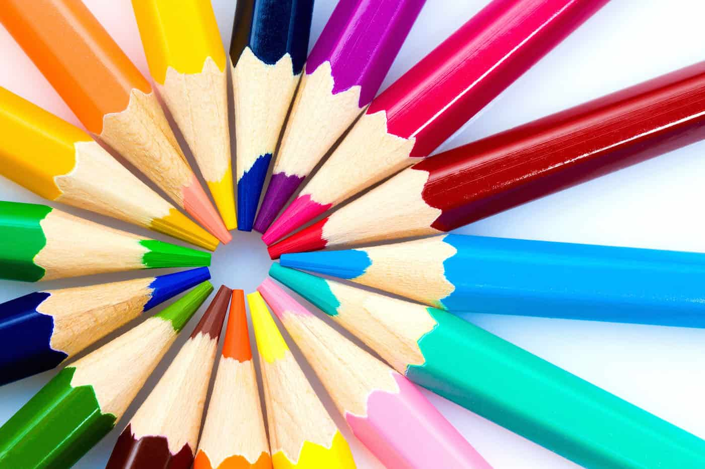 Colored pencils for adults