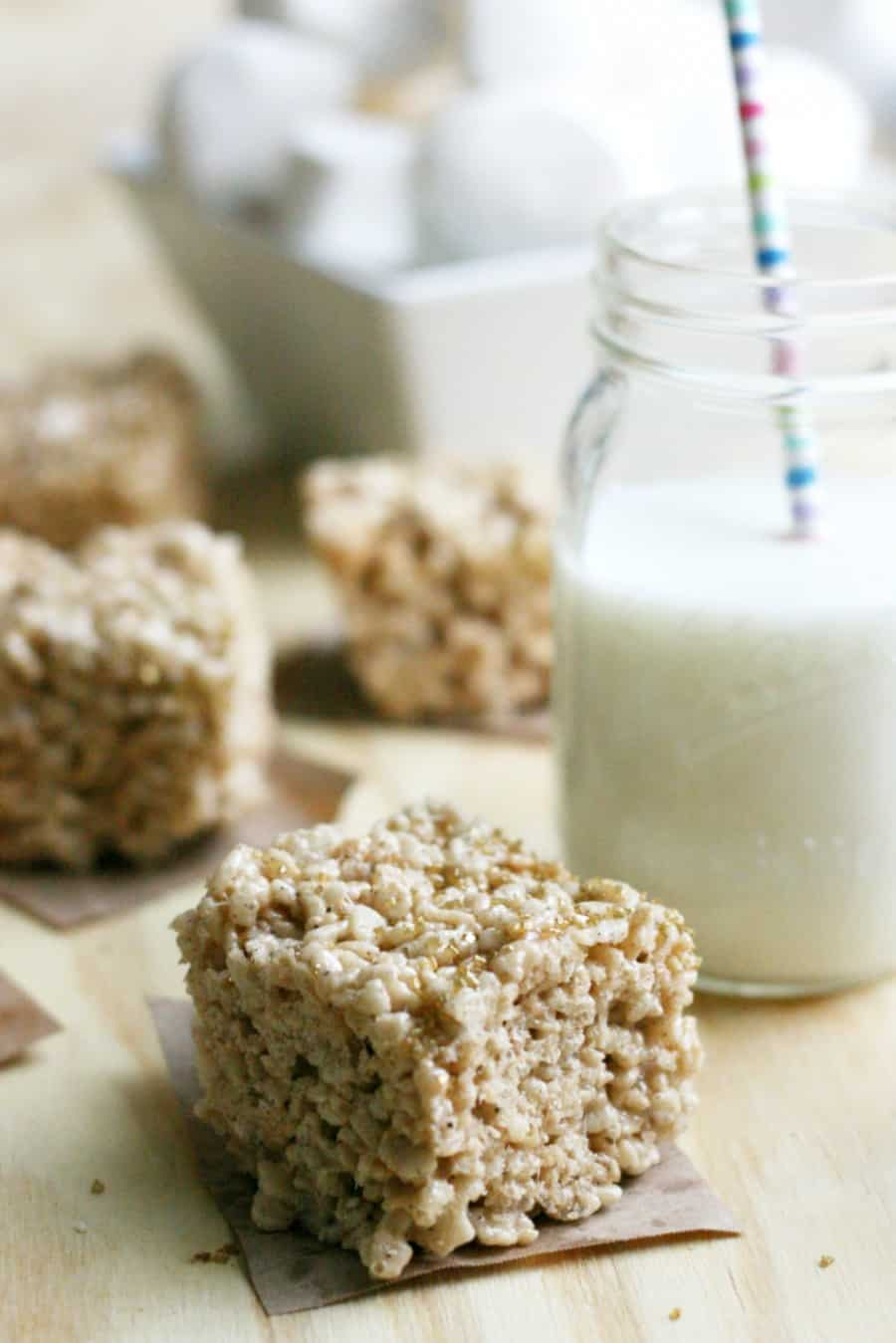 Brown Butter Salted Rice Krispie Treats Recipe