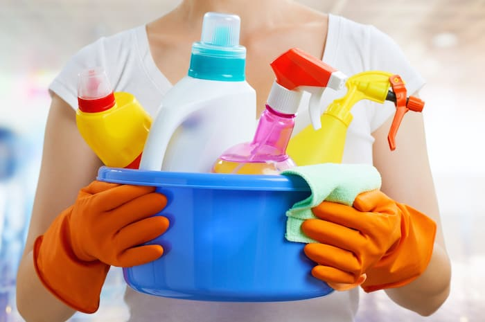 Aren't sure how often you should complete certain household duties? Here's the ultimate cleaning schedule, with weekly, monthly, and yearly tasks!