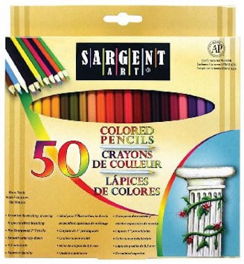 Sargent Art Colored Pencils