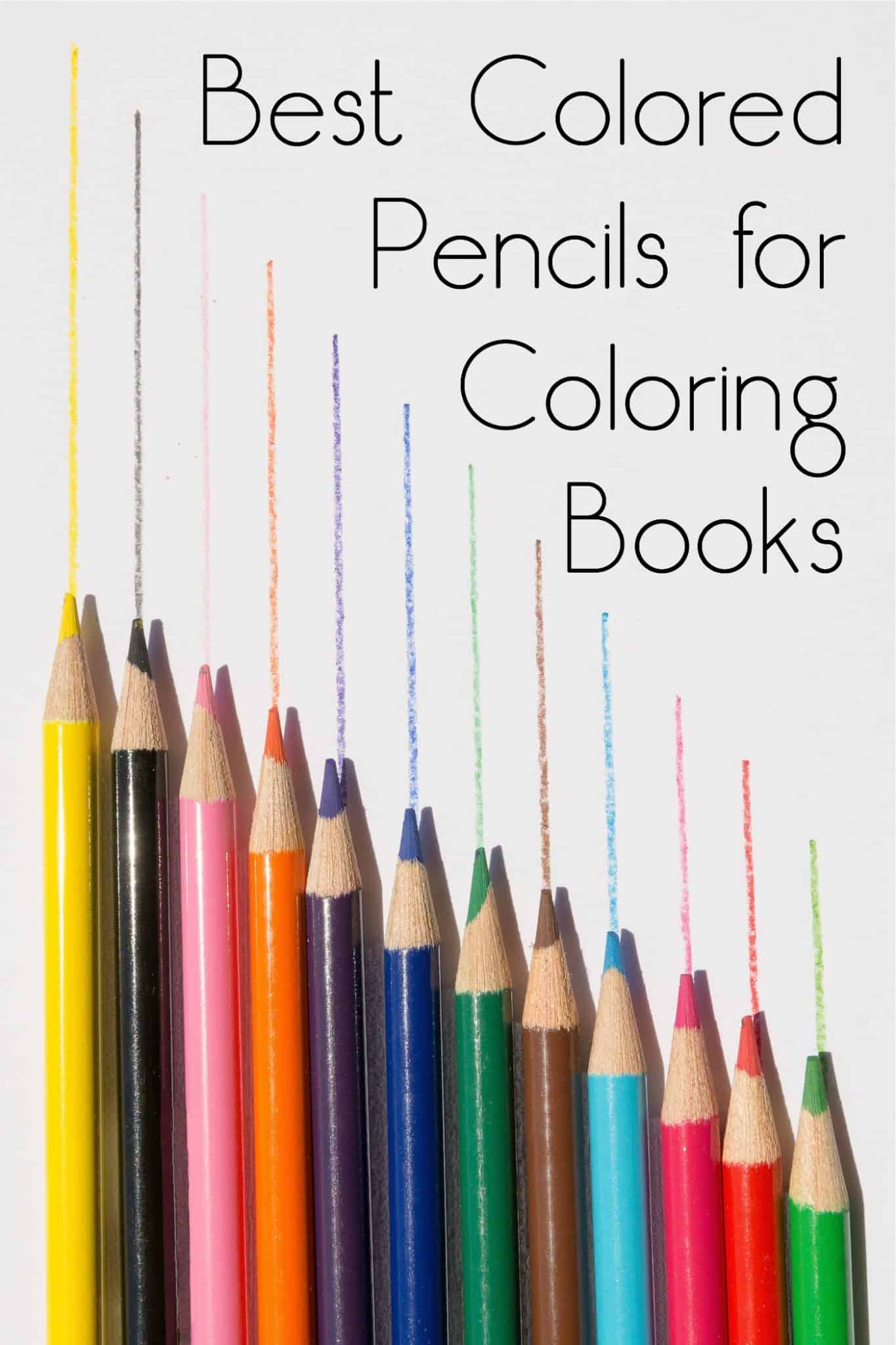 Best Colored Pencils for Coloring Books - DIY Candy