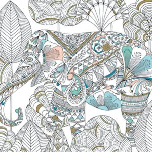 10 Animal Coloring Books for Grown Ups