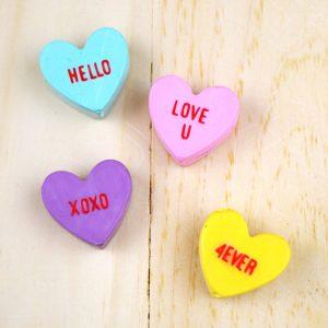 Conversation Hearts Magnets