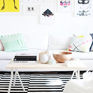 8 Unique IKEA Coffee Table Hacks