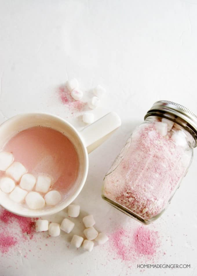 Pink Hot Chocolate Recipe