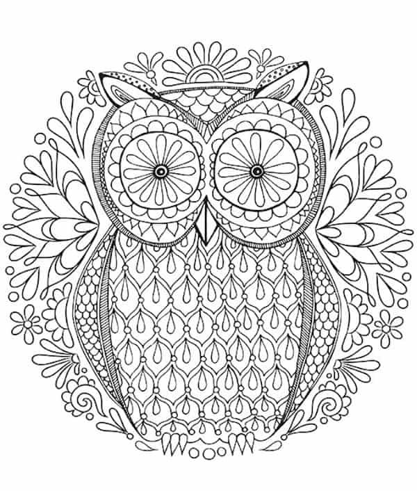 15 Favorite FREE Adult Coloring