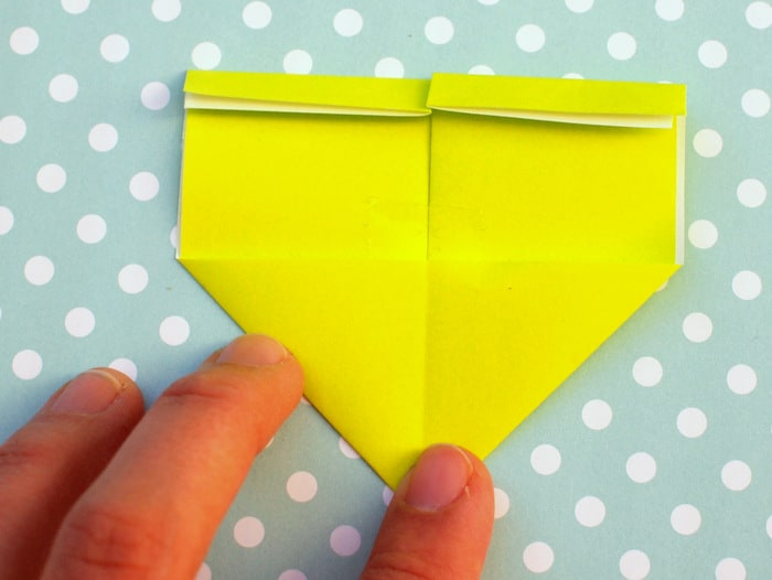 Origami bookmark - Step Eight