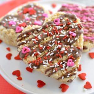 Valentine's Day Rice Krispie Treat Reci...