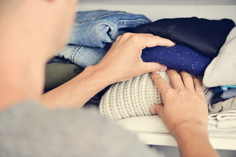 Decluttering your clothing