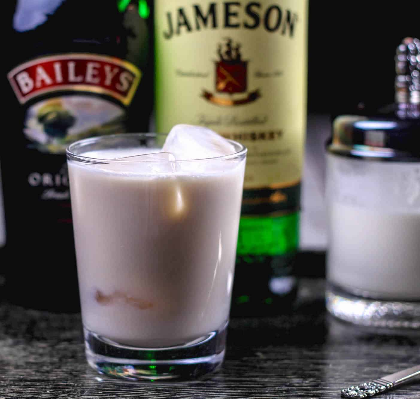 Four-Ingredient Festive Irish White Russian Cocktail