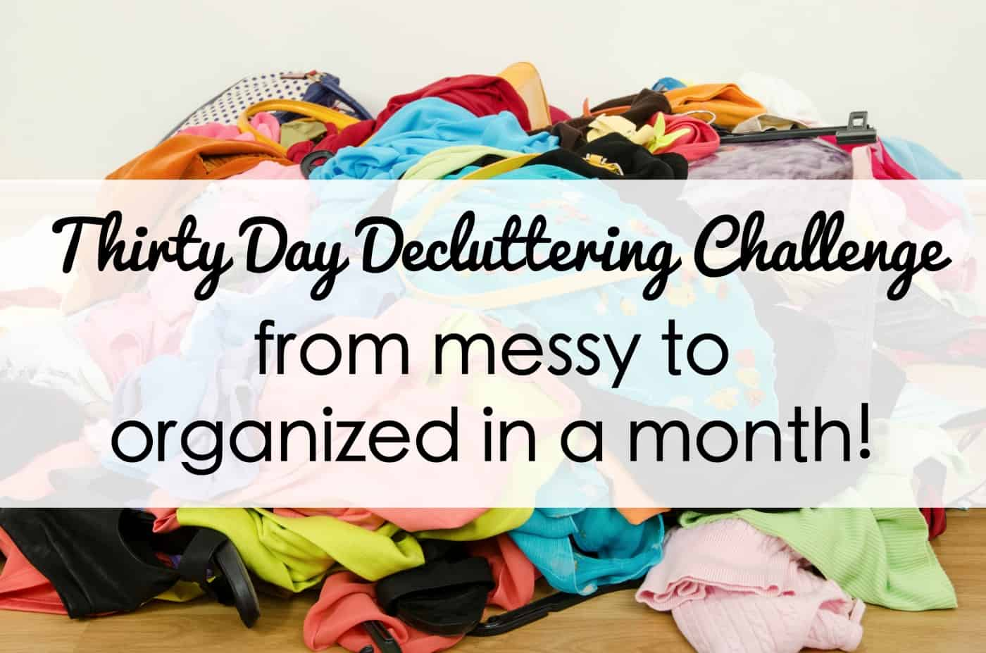 Declutter Your Home with This Easy 30-Day Challenge!