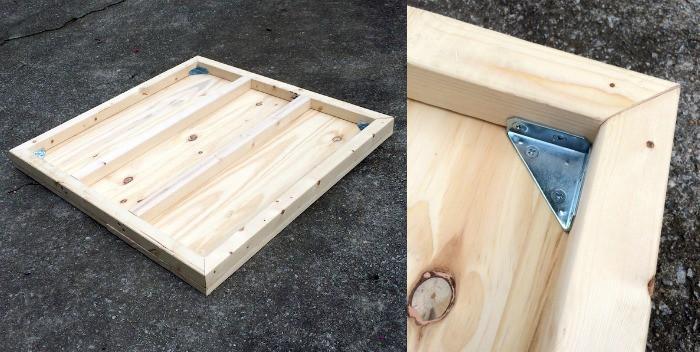 attach plywood