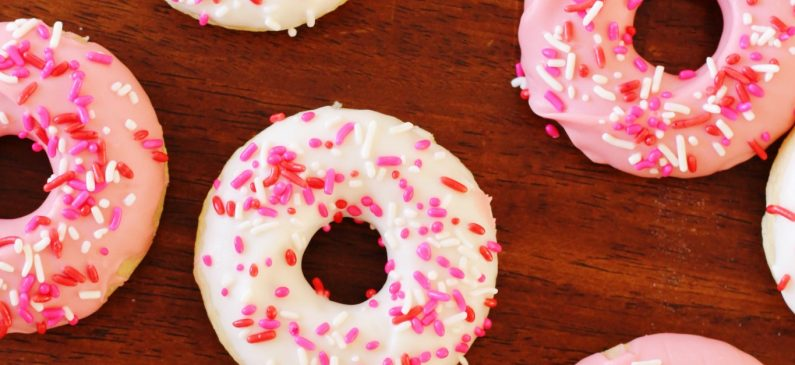 Candy Melts Valentine's Day Donuts Recipe