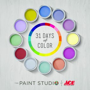Painting My Studio – 31 Days of Color