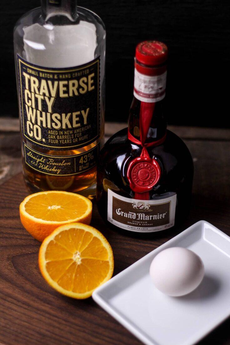 Orange Whiskey Sour Recipe
