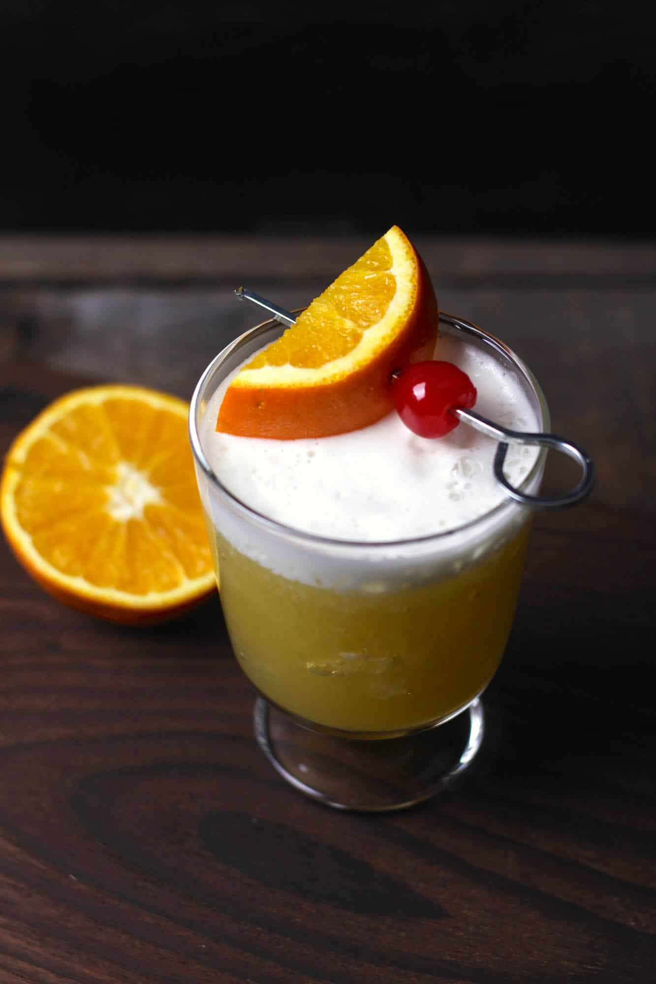 Orange Whiskey Sour Recipe Diy Candy